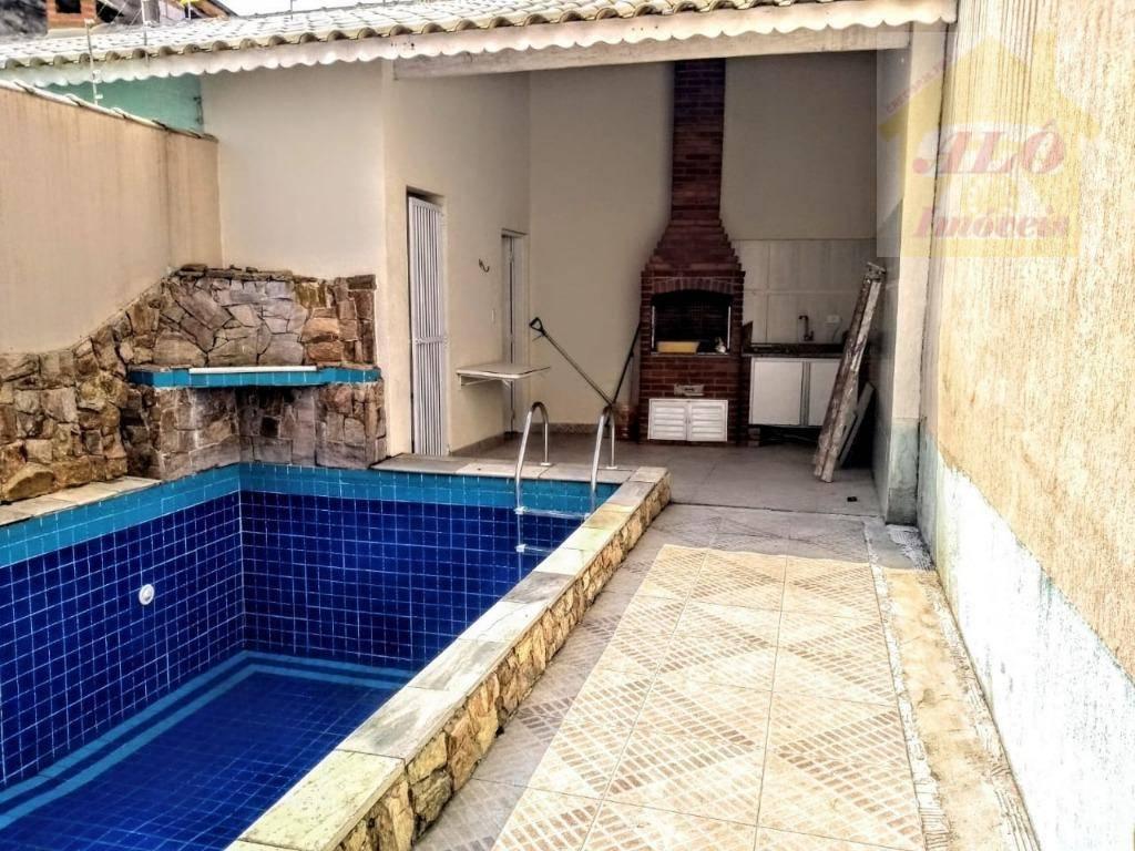 Sobrado à venda, 165 m² por R$ 650.000,00 - Aviação - Praia Grande/SP