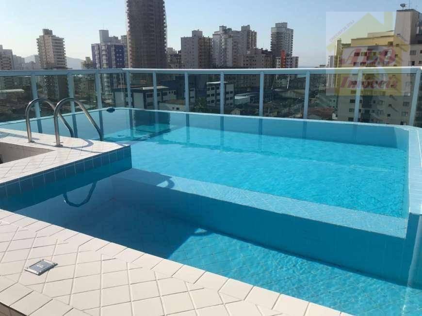 Apartamento com 1 dormitório para alugar, 36 m² por R$ 1.200/mês - Campo da Aviação - Praia Grande/SP