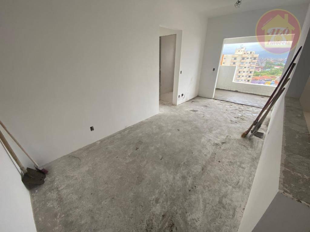 Apartamento com 2 dormitórios à venda, 64 m² por R$ 230.000 - Jardim Marina - Mongaguá/SP