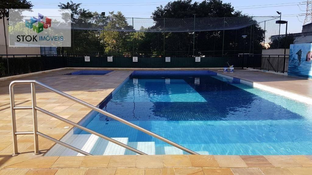 Apartamento com 2 dormitórios para alugar, 45 m² por R$ 1.300/mês - Vila Curuçá - São Paulo/SP