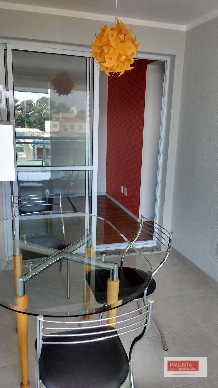 Apartamento com 1 dormitório para alugar, 45 m² por R$ 1.900/mês - Alto da Boa Vista - São Paulo/SP