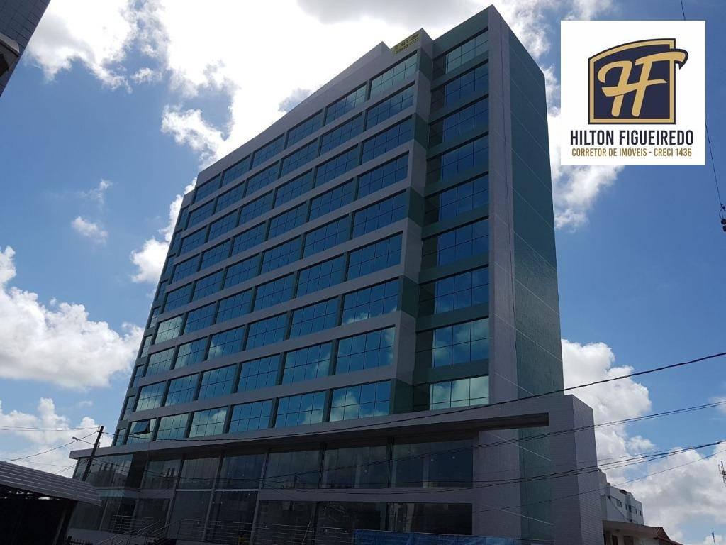 Flat com 1 dormitório à venda, 35 m² por R$ 190.000,00 - Ponta de Campina - Cabedelo/PB