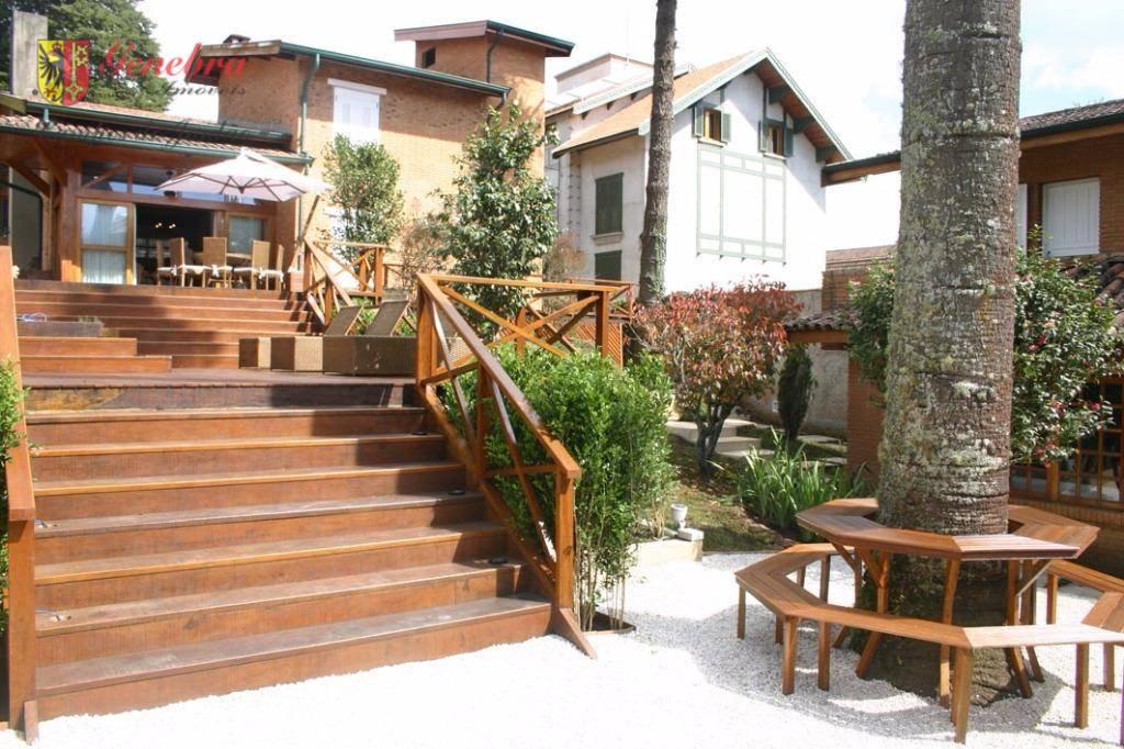 Casa residencial à venda, Capivari, Campos do Jordão.