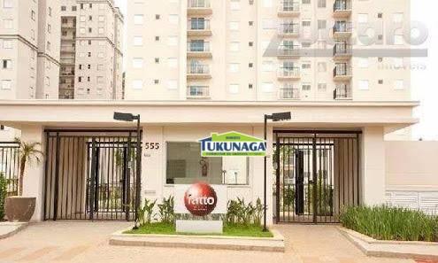 Apartamento residencial à venda, Vila Augusta, Guarulhos.
