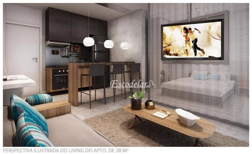 Apartamento com 1 dormitório à venda, 38 m² por R$ 300.000 - Jardim Flor da Montanha - Guarulhos/SP