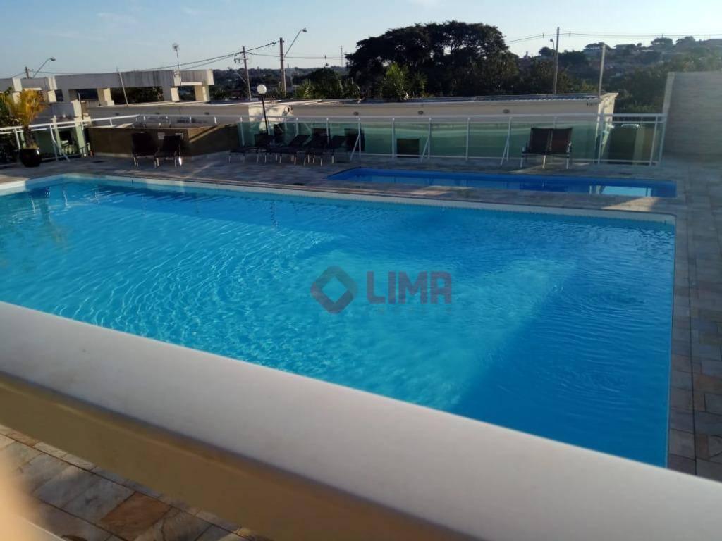 Apartamento para alugar, 40 m² por R$ 800/mês - Jardim Estrela D Alva - Bauru/SP