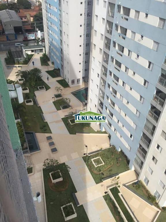 Apartamento 2 dorms -1 Vaga - churrasqueira na sacada - Condomínio Uni Bosque  cod: ap1848