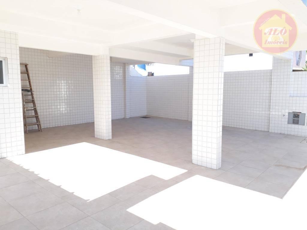 Sobrado com 2 dormitórios para alugar, 55 m² por R$ 1.200,00/mês - Vila Sônia - Praia Grande/SP