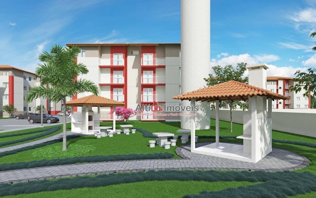 Residencial Verona, 2 quartos, 51 mt²