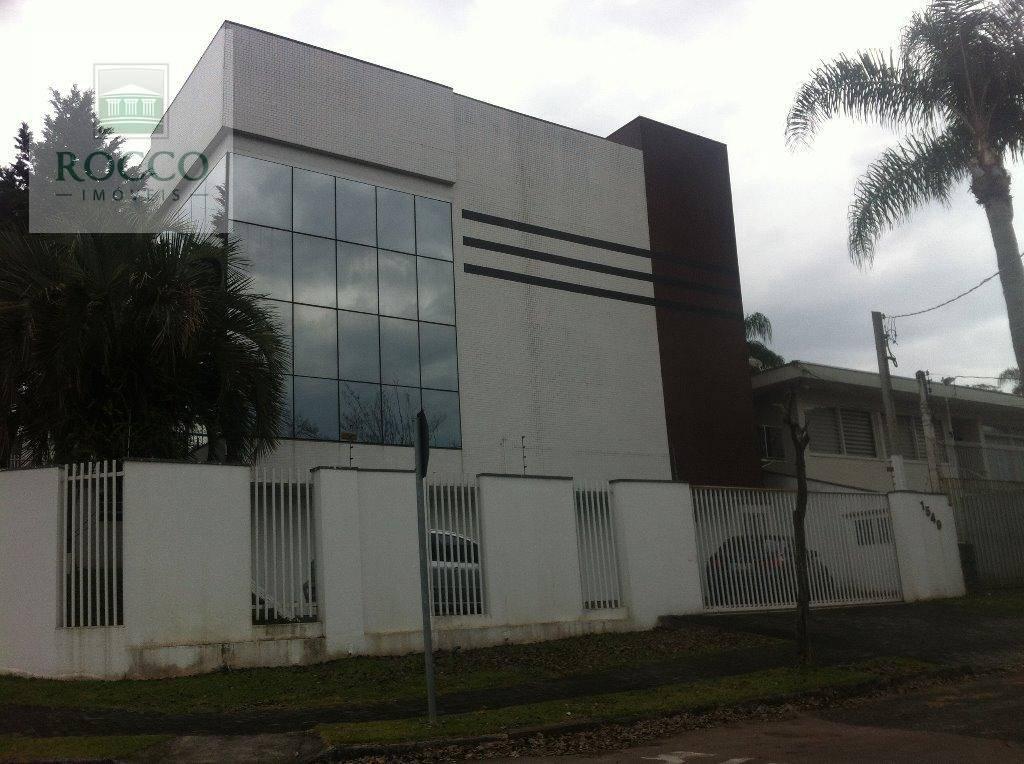 Prédio comercial à venda, Cristo Rei, Curitiba.
