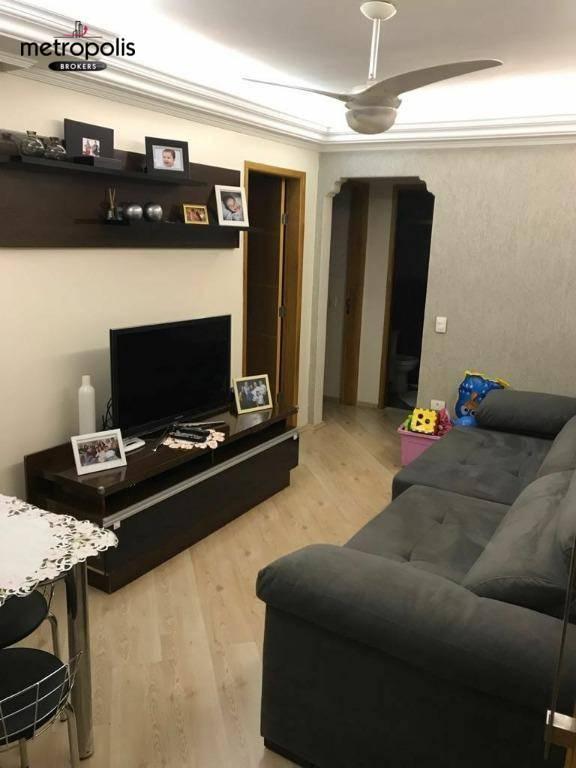 Apartamento com 2 dormitórios à venda, 50 m² por R$ 230.000,00 - Taboão - São Bernardo do Campo/SP