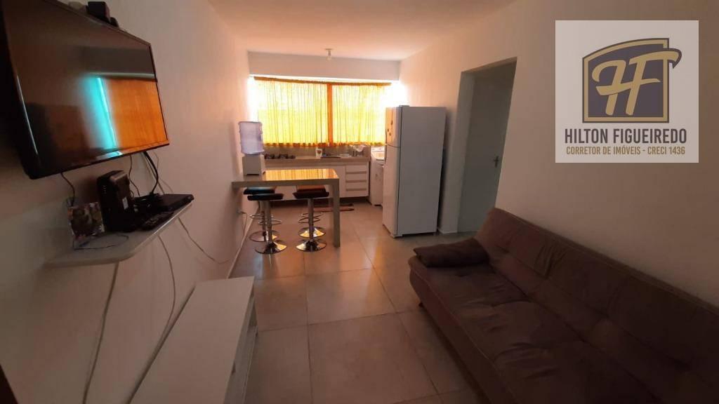 Vendo apto COM MOBÍLIA c 2 quartos, 84 m² por R$ 125.000 - Aeroclube - João Pessoa/PB