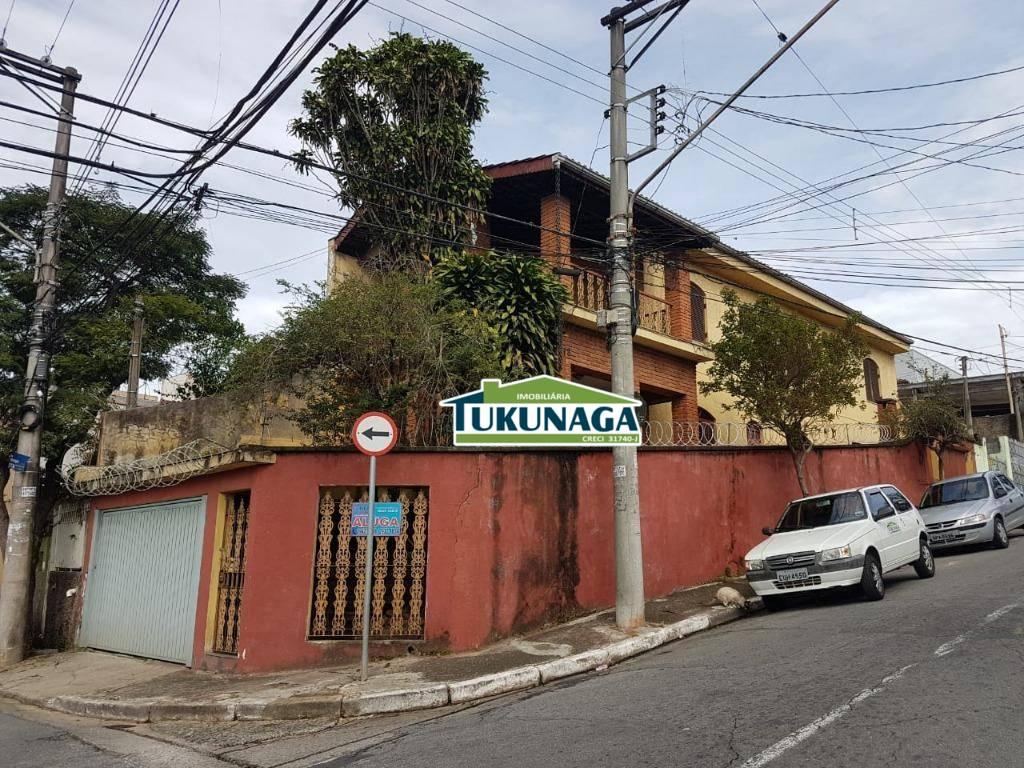 Sobrado residencial à venda, Jardim Aida, Guarulhos.