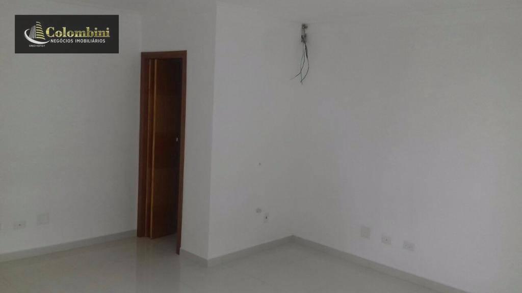 Sala comercial para locação, Nova Gerti, São Caetano do Sul.