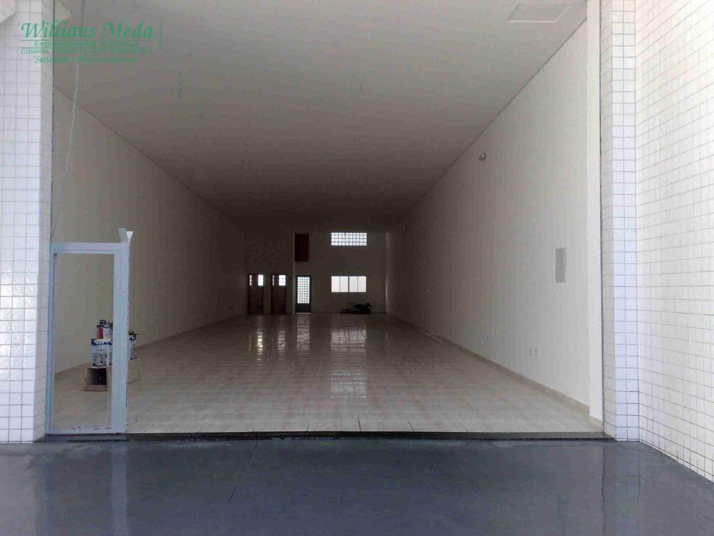 Salão para alugar, 265 m² por R$ 7.200/mês - Vila Augusta - Guarulhos/SP