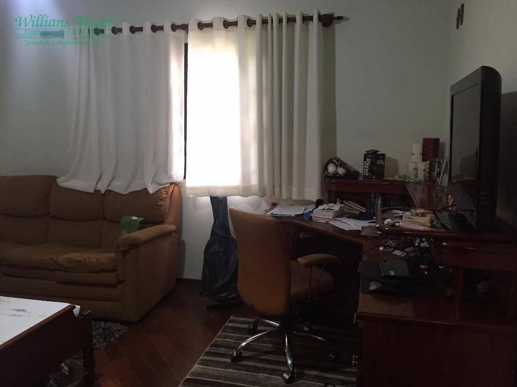 Sobrado , 3 dormitórios, sendo 1 suíte, 2 vagas, Vila Augusta, Guarulhos.