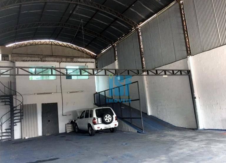Galpão para alugar, 400 m² - Ayrosa - Osasco/SP - GA0443.