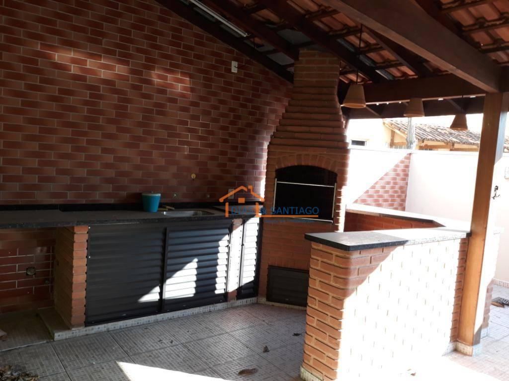 Sobrado com 3 dormitórios à venda, 67 m² por R$ 360.000 - Parque Villa Flores - Sumaré/SP