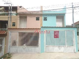 Sobrado Residencial à venda, Vila Curuçá, Santo André - SO0336.