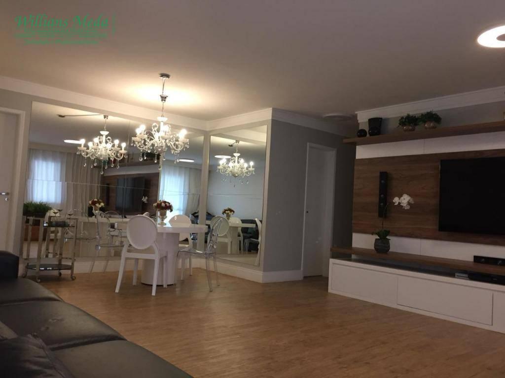 Apartamento residencial à venda, Bosque Maia, Guarulhos.