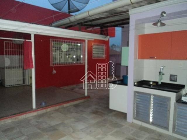 Casa com 3 dormitórios à venda, 100 m² por R$ 470.000 - Rocha - São Gonçalo/RJ