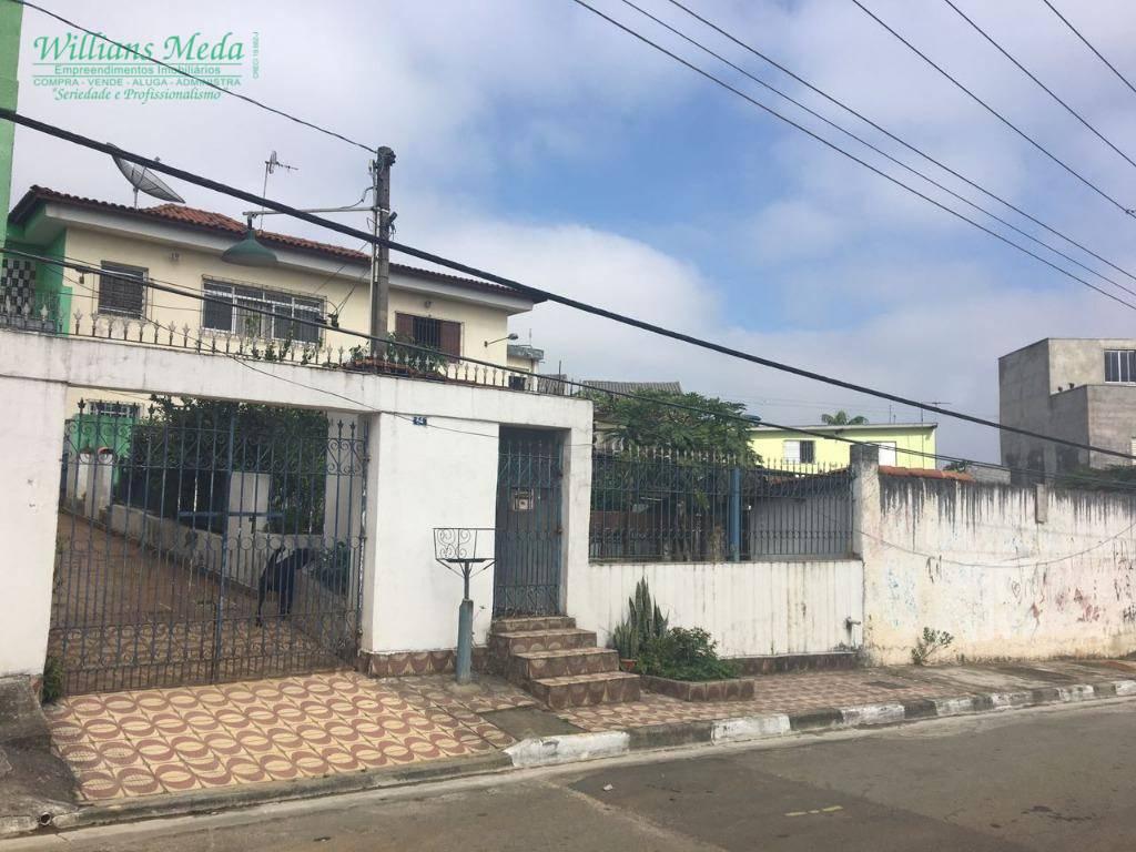 Sobrado residencial à venda, Jardim Presidente Dutra, Guarul