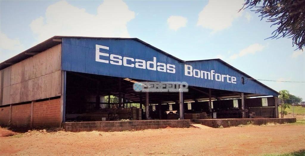 Barracão industrial para venda e locação, Parque Industrial José Garcia Gimenes, Cambé.