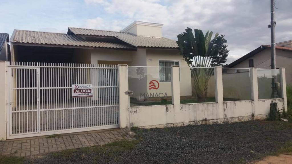Casa com 2 dormitórios para alugar, 60 m² por R$ 1.100/mês - Vila Nova - Barra Velha/SC