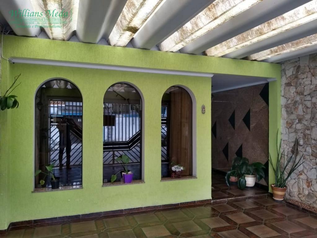 Sobrado com 3 dormitórios à venda, 140 m² por R$ 700.000 - Vila Augusta - Guarulhos/SP