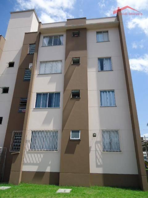 Apartamento com 2 dormitórios para alugar, 60 m² por R$ 850/mês - Costa e Silva - Joinville/SC