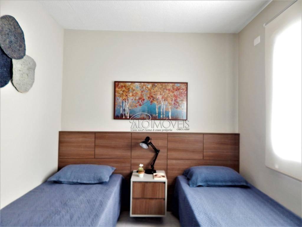 Casa com 2 dormitórios à venda, 52 m² por R$ 175.000 - Capela Velha - Araucária/PR