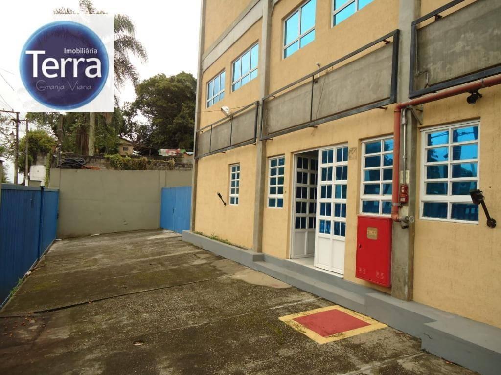 Galpão para alugar, 890 m² por R$ 12.000/mês - Jardim Rebelato - Granja Viana