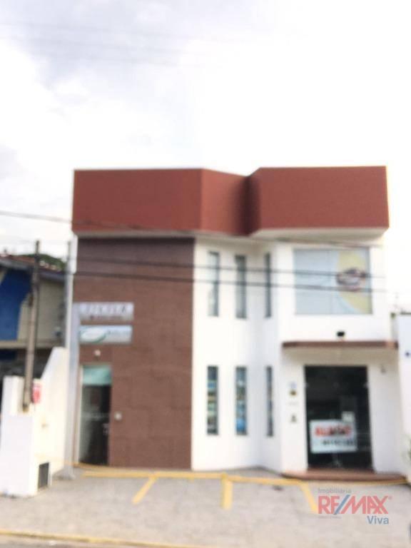 Sala para alugar, 110 m² por R$ 3.300/mês  Alameda Professor Lucas Nogueira Garcez, 1219 - Vila Thais - Atibaia/SP