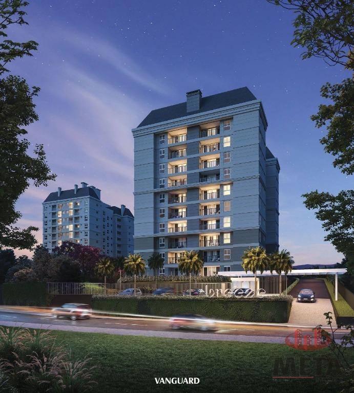 Apartamento com 1 Dormitórios à venda, 46 m² por R$ 283.781,00