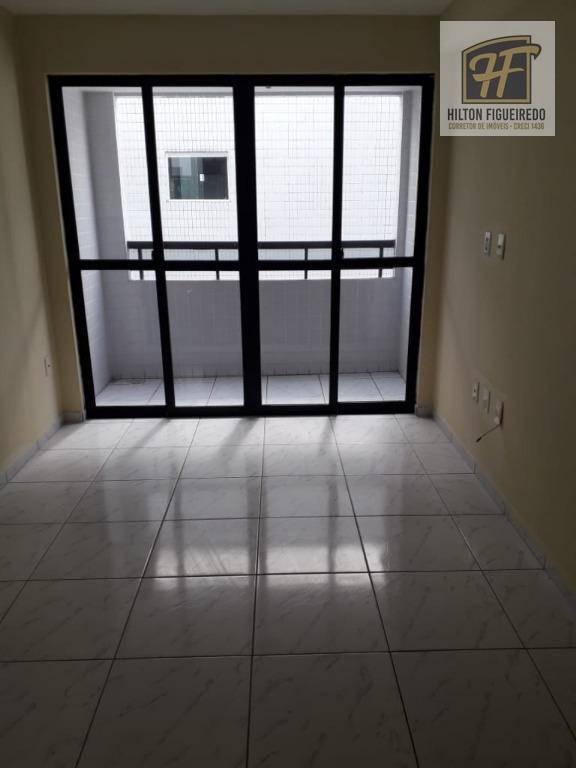 Apartamento com 3 dormitórios para alugar, 90 m² por R$ 1.000/mês - Bessa - João Pessoa/PB