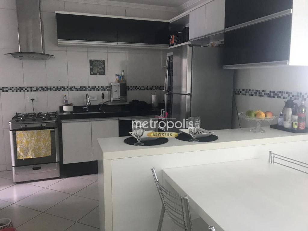 Casa com 3 dormitórios à venda, 95 m² por R$ 425.000,00 - Parque das Nações - Santo André/SP