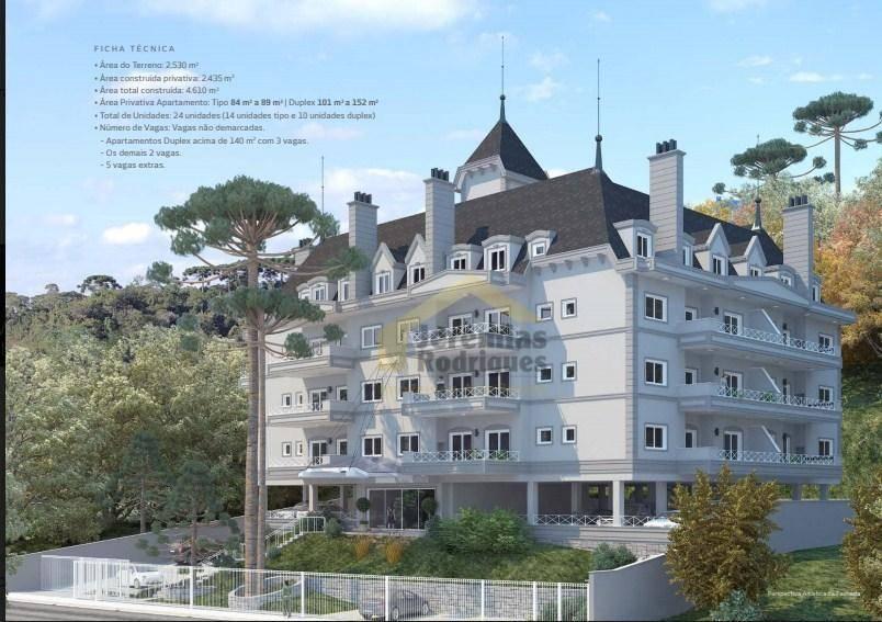 Apartamento com 2 dormitórios à venda, 89 m² por R$ 747.600