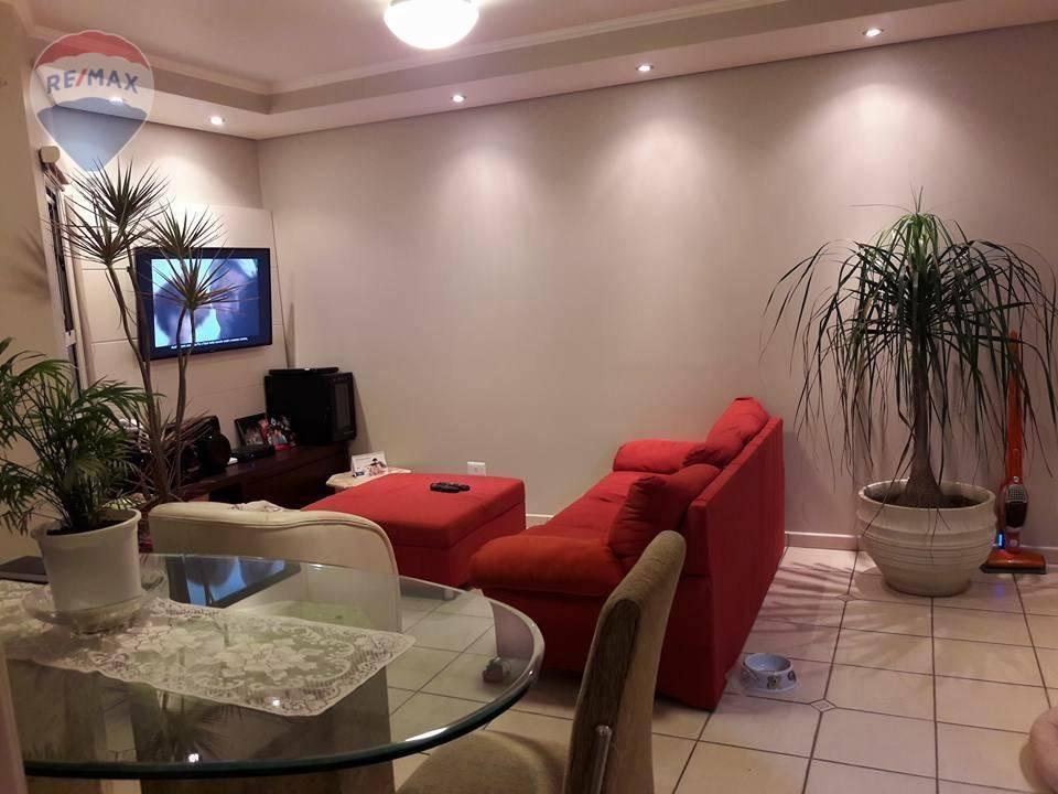 Apartamento com 3 dormitórios à venda, 83 m² por R$ 500.000 - Atibaia Jardim - Atibaia/SP