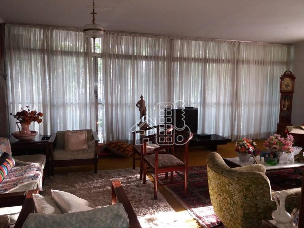 Casa com 4 dormitórios à venda, 380 m² por R$ 1.650.000,00 - São Francisco - Niterói/RJ