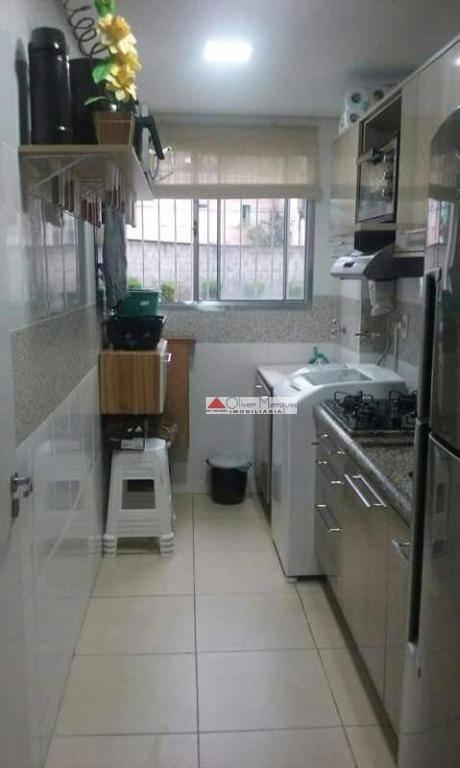 Apartamento com 2 dormitórios à venda, 50 m² por R$ 200.000 - Jardim Bela Vista - Itapevi/SP