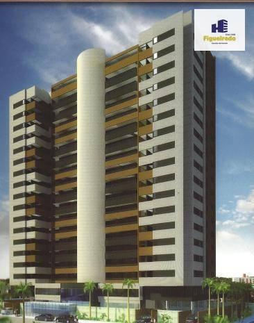 Apartamento com 3 dormitórios à venda, 143 m² por R$ 695.000 - Jardim Oceania - João Pessoa/PB