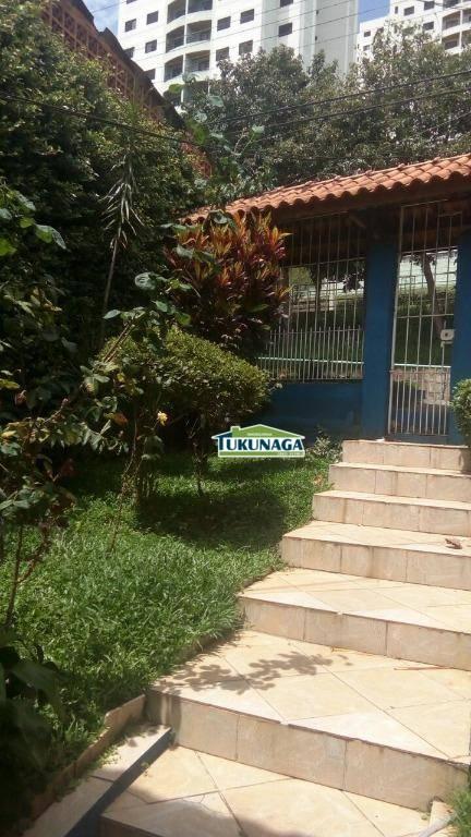 Casa residencial à venda, Vila Capitão Rabelo, Guarulhos.