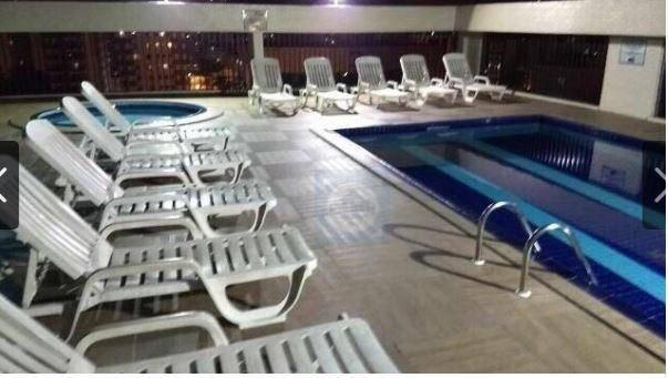 Flat com 1 dormitório à venda, 37 m² por R$ 106.000 - Centro - São Vicente/SP