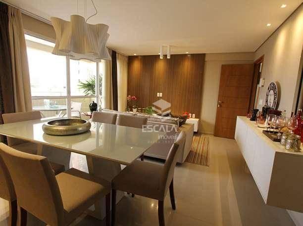 Apartamento com 3 quartos à venda, Aldeota, novo, 95m2, 2 vagas, lazer completo. Financia.
