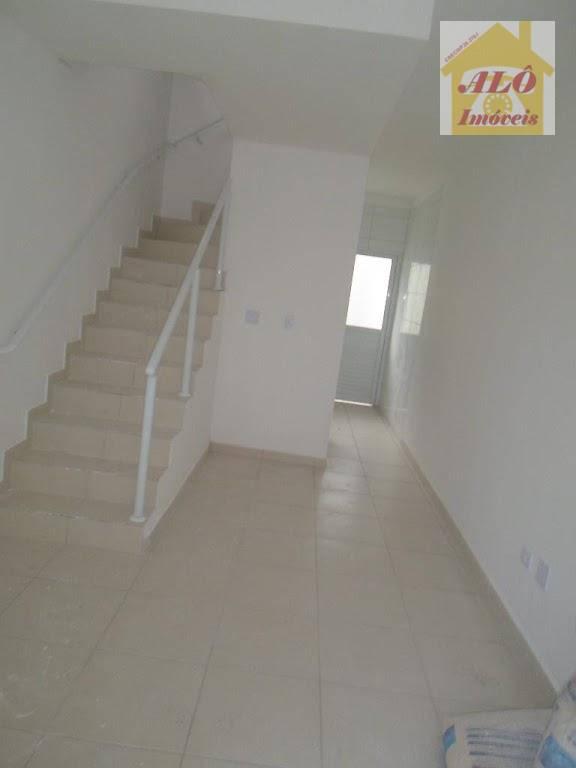 Sobrado residencial à venda, Vila Sônia, Praia Grande.