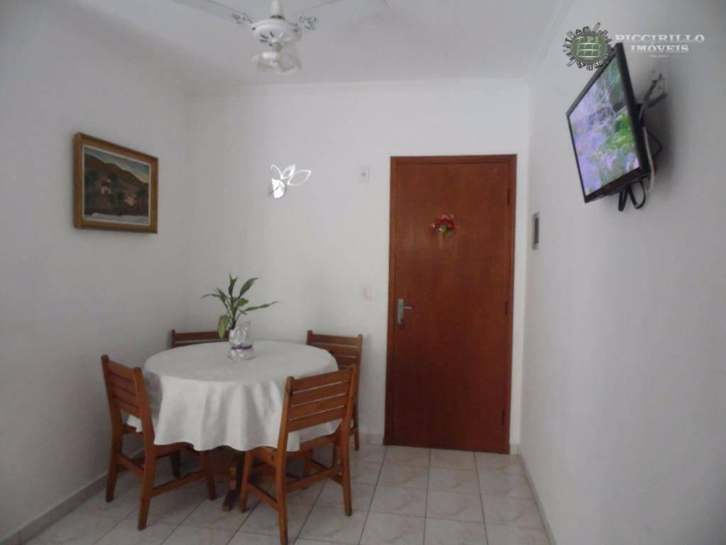 Kitnet residencial 1 dormitório à venda, Vila Guilhermina, Praia Grande.