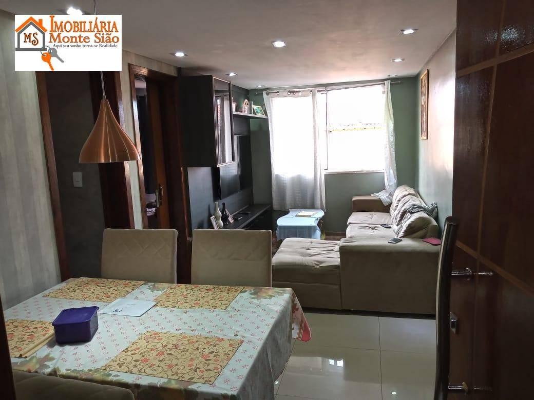 Lindo Apartamento no Condomínio Cidade Brasilia com 2 dormitórios à venda, 45 m² - Jardim Silvestre - Guarulhos/SP