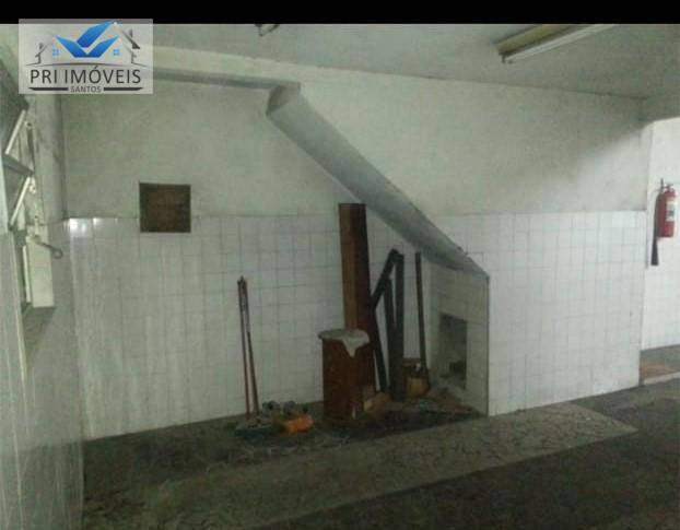 Galpão à venda, 159 m² por R$ 625.000 - Chico de Paula - Santos/SP