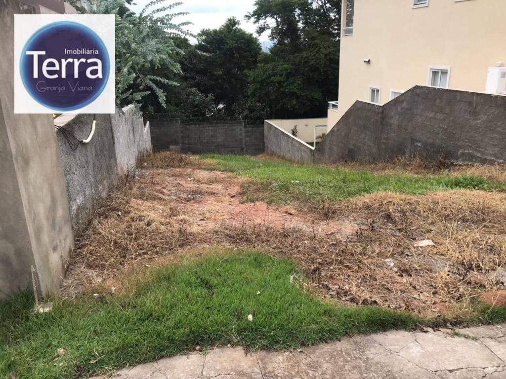 Terreno residencial à venda, Terras de São Fernando, Granja Viana.