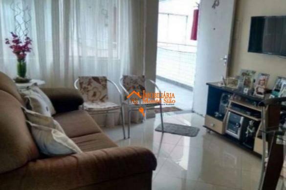 Oportunidade na Av. Emilio Ribas com 2 dormitórios, 58 m² - Jardim Vila Galvão - Guarulhos/SP